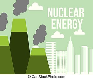 nuclear energy power plant city ecology
