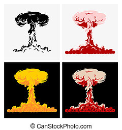 Nuclear explosion - Set of Nuclear explosions