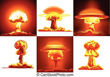 Nuclear explosions set