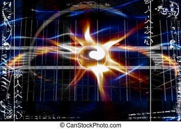 nuclear fusion, fireball, star