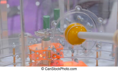 Nuclear manipulator remote handling equipment simulator -...