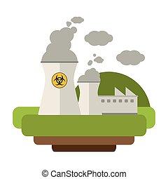 Nuclear plant industrial energy