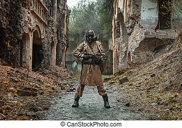 Nuclear post-apocalypse survivor - Nuclear post-apocalypse....