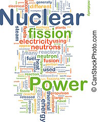 Nuclear power background concept - Background concept...