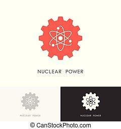 Nuclear power logo