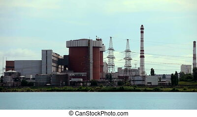 Nuclear Power Plant - A huge corps of nuclear power stations...