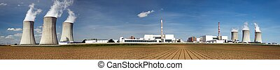 Nuclear power plant Dukovany - Czech Republic
