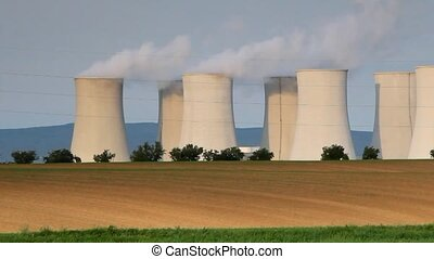 Nuclear power plant - motion time l