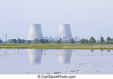 Nuclear Power Plant - Two reactors of a nuclear power plant...