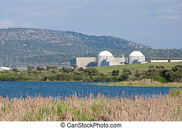 Nuclear Power Plant - Beautiful picture of Almaraz Nuclear...