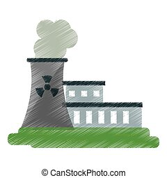 nuclear power station energy pollution ed