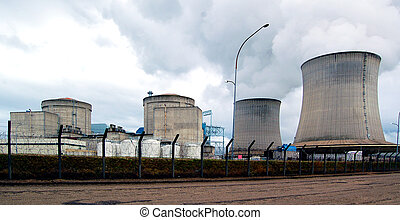 Nuclear Power Station - France (Saint-Laurent)