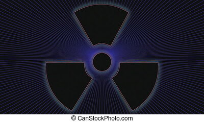 Nuclear Radiation Weapon Symbol
