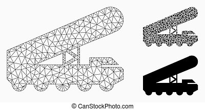 Nuclear Rocket Launcher Vector Mesh Carcass Model and ...