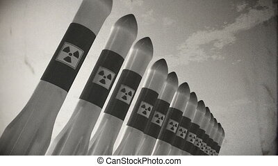 Nuclear Rockets 17 vintage