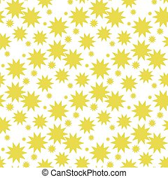Nucleate explosion pattern seamless vector repeat geometric yellow for any design EPS 10