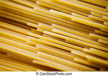 nudelgerichte, schließen, spaghetti, auf