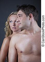 nudo, coppia