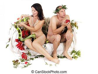 nudo, coppia, problemi