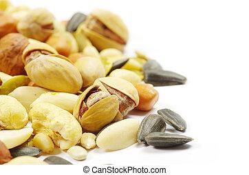 nueces, semillas