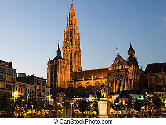 nuestro, dama, catedral