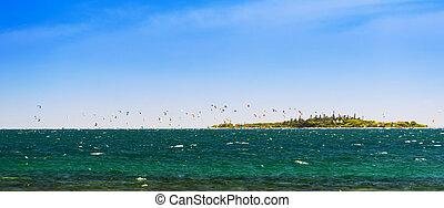 nueva caledonia, kitesurfing