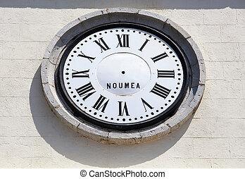 nueva caledonia, tiempo