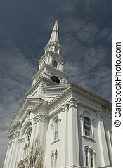 nueva inglaterra, iglesia