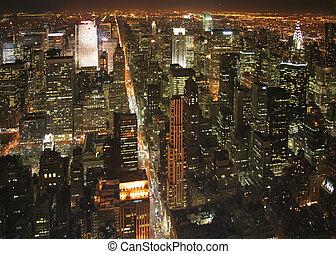 nueva york, noche