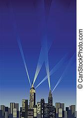 nueva york, rascacielos