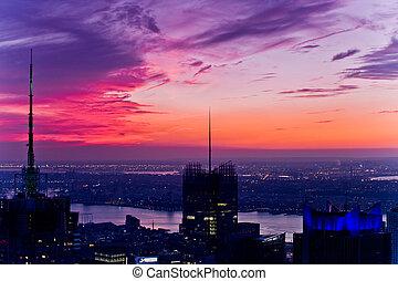 nueva york, techos