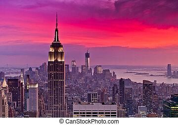nueva york, vista