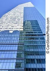 nuevo, américa, york, banco, torre