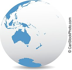 nuevo, australia, zealand, mundo