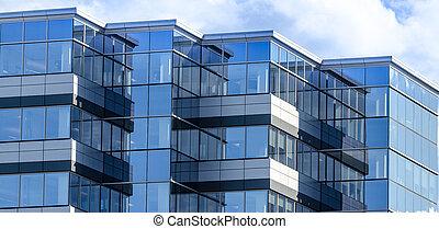 nuevo, bienes raíces comerciales, edificio