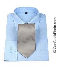 nuevo, camisa & corbata
