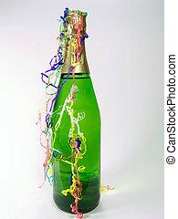 nuevo, champaña, año