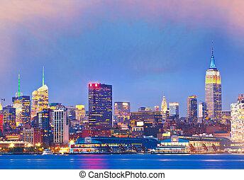 nuevo, ciudad, york
