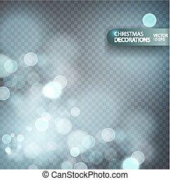 nuevo, decoration., navidad, plano de fondo, año