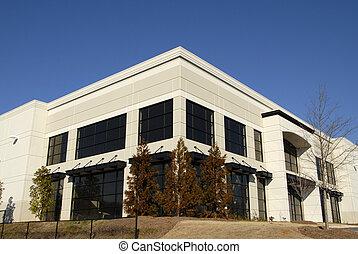 nuevo, edificio comercial