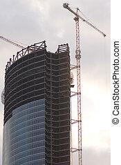nuevo, edificio, proyecto