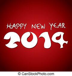 nuevo, Extracto, feliz,  2014, año