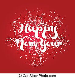 nuevo, feliz, año