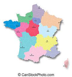 nuevo, francés, territorial, reform