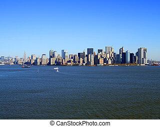 nuevo, manhattan más, york