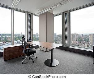 nuevo, moderno, oficina