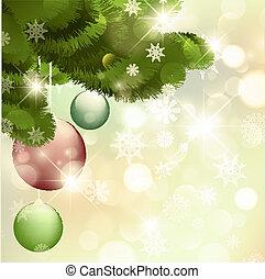 nuevo, navidad feliz, alegre, year!