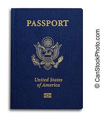 nuevo, nosotros, pasaporte
