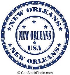 nuevo, orleans-stamp