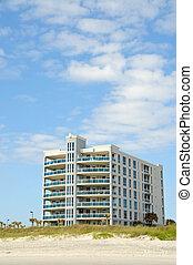 nuevo, playa, condominios